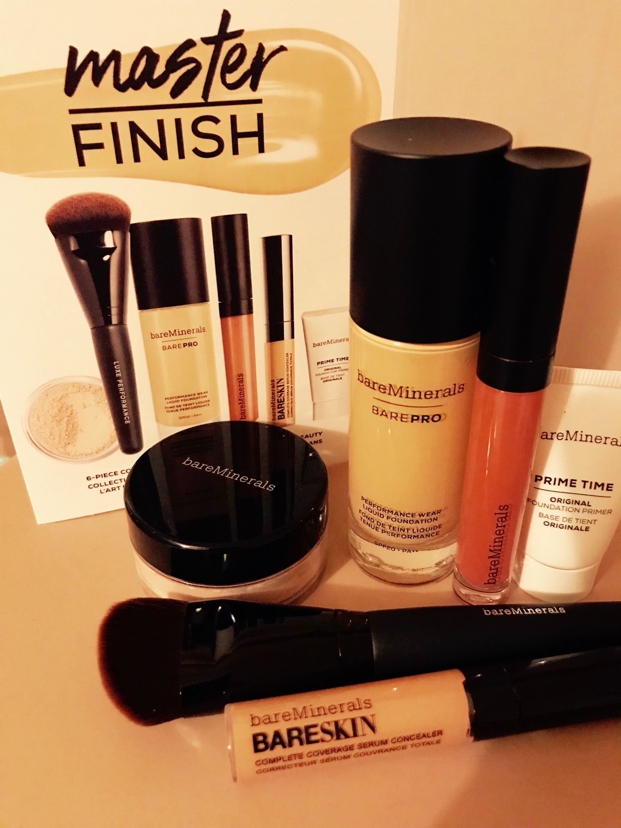Bare Minerals – Master finish collection