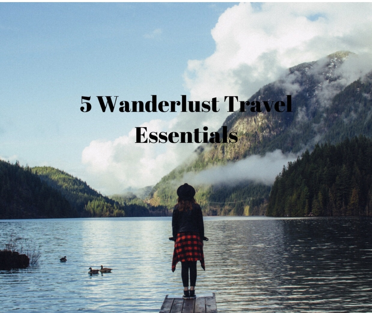 5 wanderlust travel essentials – guest blog article by Amy Mia Goldsmith