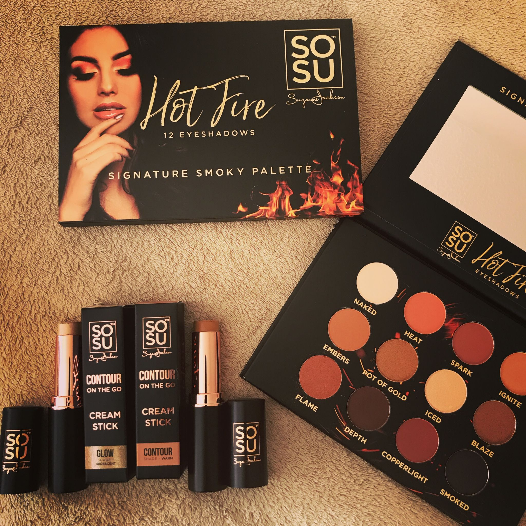 SoSu Hot fire palette