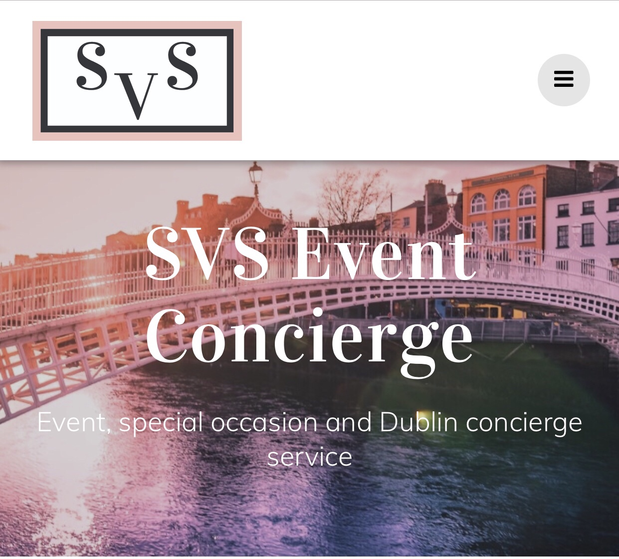 SVS Event Concierge website now live!