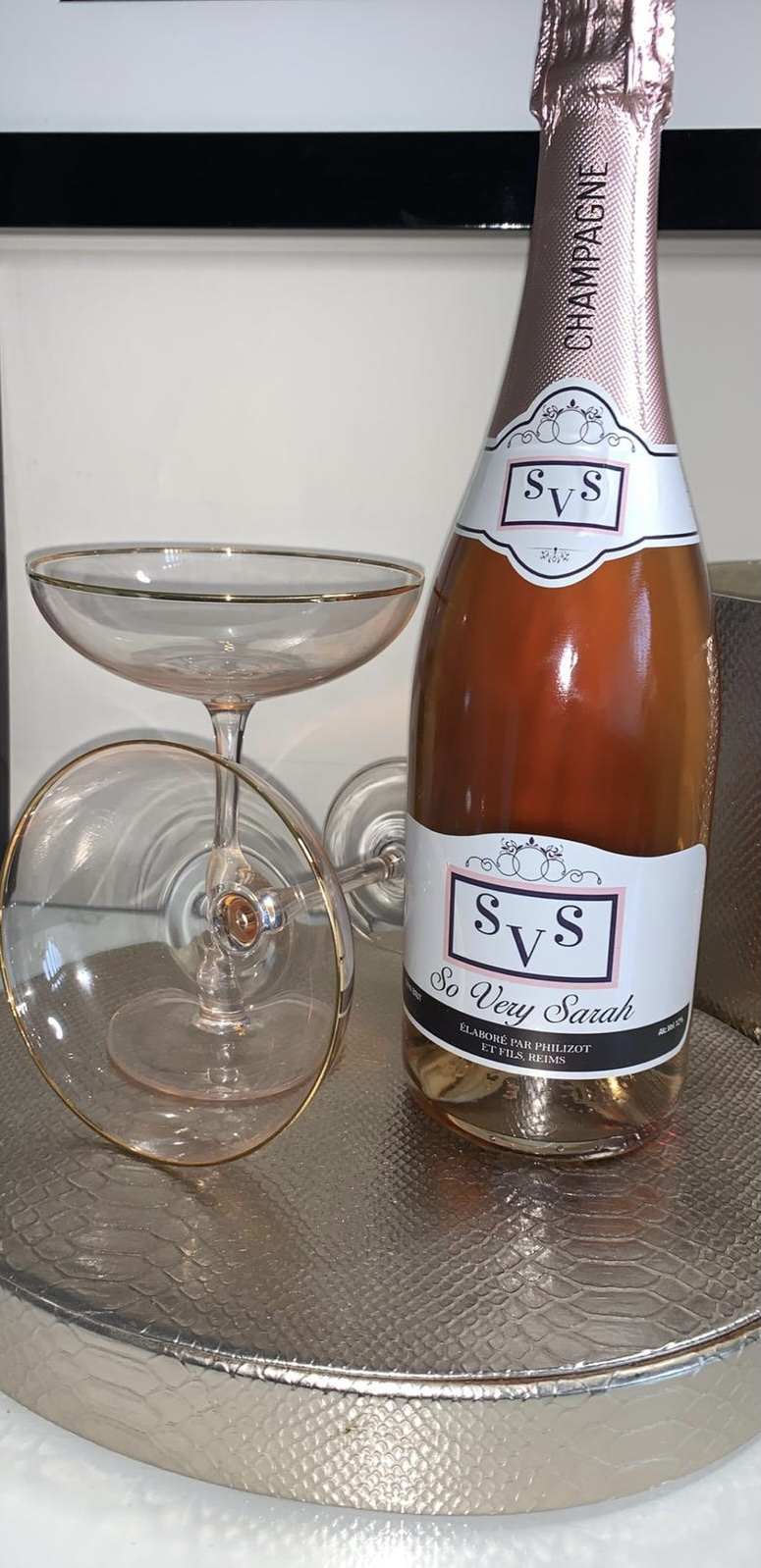 Featured Supplier – Say It With Champers